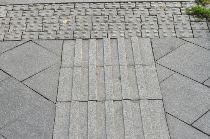 kő vakvezetö