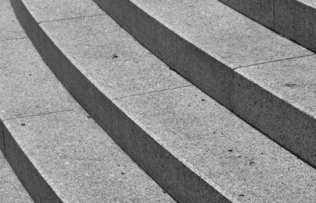 kert építés, lépcső